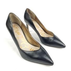 Sam Edelman Orella Pumps Black Size 5.5M Leather U